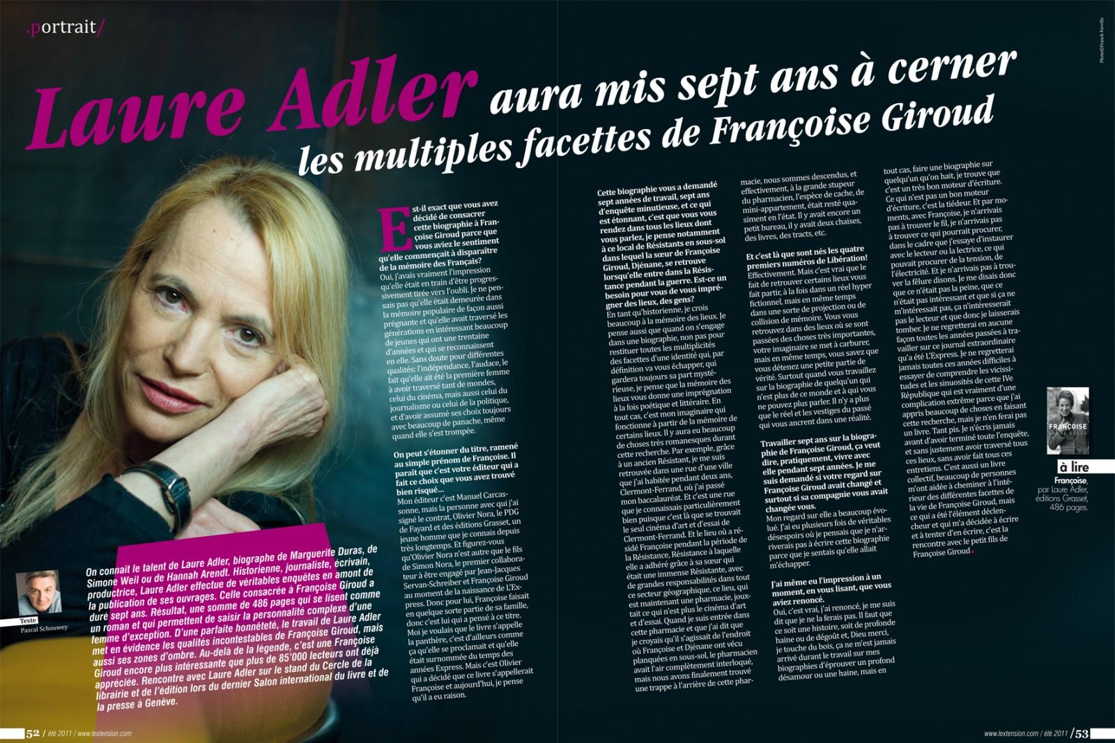 l'extension magazine Création des maquettes et mise en page du Magazine L'Extension (Genève et région) de octobre 2007 à janvier 2013 / frederic muller portfolio graphiste