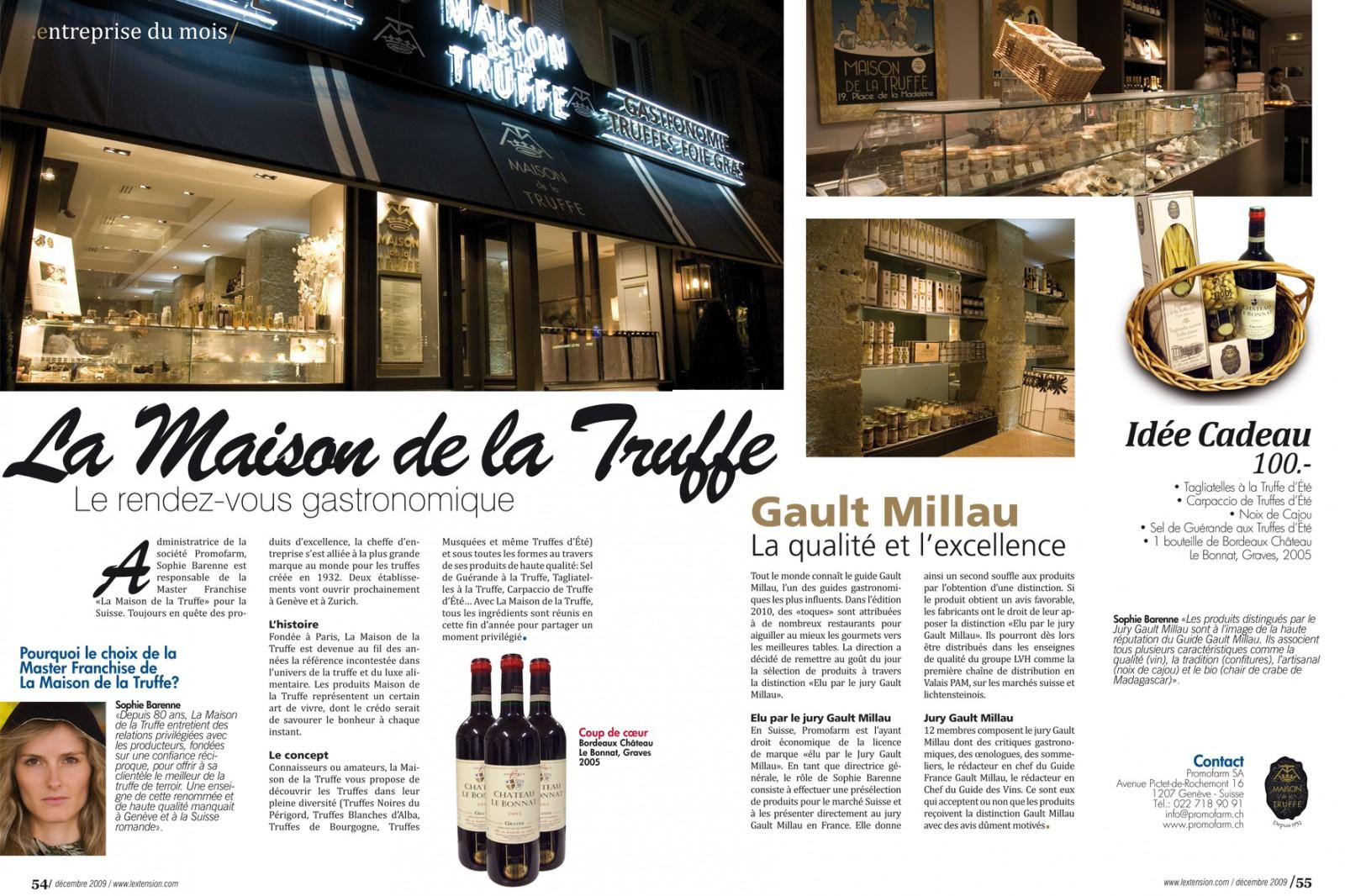 l'extension magazine Création des maquettes et mise en page du Magazine L'Extension (Genève et région) de octobre 2007 à janvier 2013.